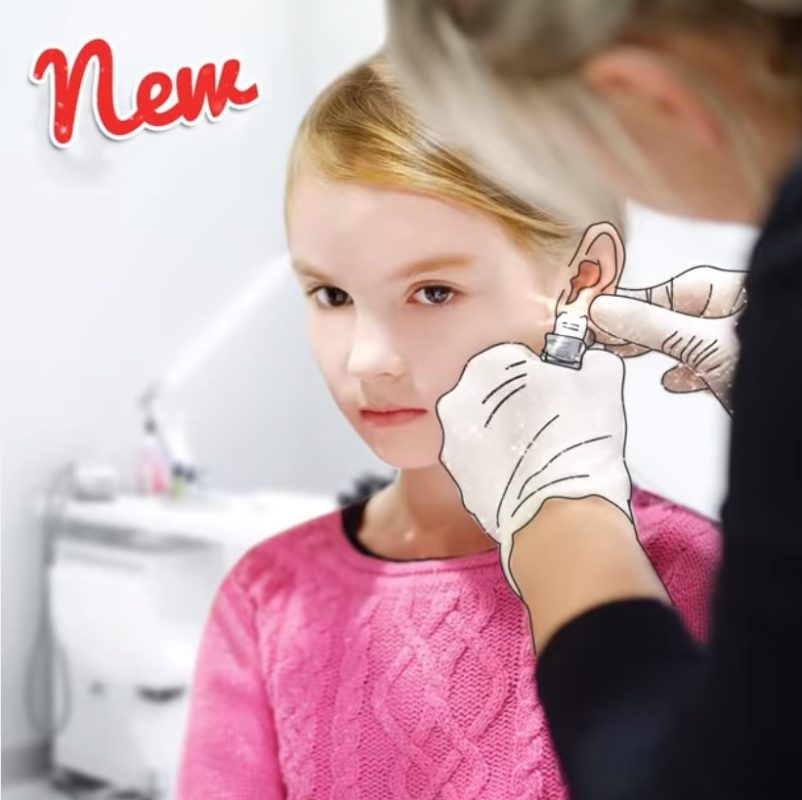 Как проколоть ребенку уши без боли и опасности занести инфекцию
