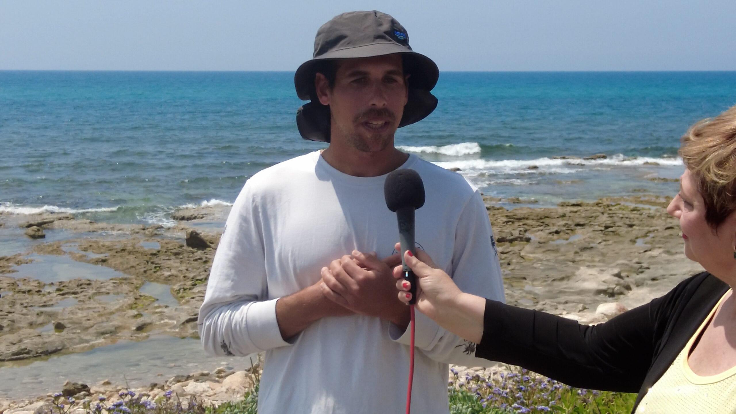 Как использовать пляж Хайфы в #ЗОЖ передача Haifa News TV
